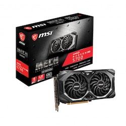 MSI Radeon RX 5700 MECHGP OC 8GB GDDR6 PCI Express 4.0