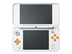 New Nintendo 2DS XL - Spelkonsol till handdator - vit, orange