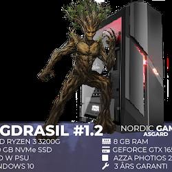 Yggdrasil # 1.2 Ryzen 3 3200G 8GB 250GB GTX 1650