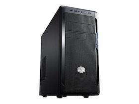 Cooler Master N300 - Miditower - ATX - inget nätaggregat (ATX / PS/2) - midnattssvart