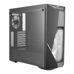 Cooler Master MasterBox K500 - Miditower - ATX - inget nätaggregat (ATX) - svart