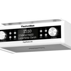 TechniSat DigitRadio 20 - DAB portable radio - white