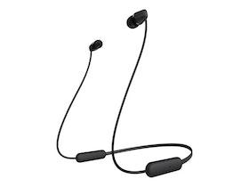 Sony WI-C200 - Hörlurar med mikrofon - i örat - Bluetooth - trådlös - Svart