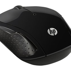 HP 200 optisk trådlös svart