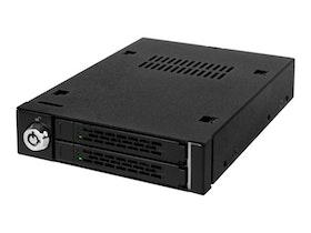 "Cremax ICY Dock ToughArmor MB992SK-B - lagringsenhet - 2,5 ""- matt svart"