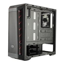 Cooler Master MasterBox MB511 Miditower ATX Inget nätaggregat - Svart / Vit