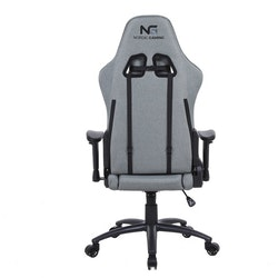 Nordic Gaming Racer Chair Fabric Grey