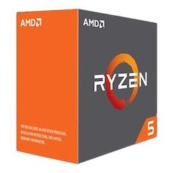 AMD Ryzen 5 1600 - 3.2 GHz - 16 MB cache - Socket AM4 - Box