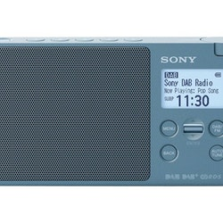 Sony XDR-S41D - DAB portable radio - 0.65 Watt - Blå