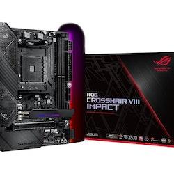 ASUS ROG Crosshair VIII Impact ATX AM4 AMD X570
