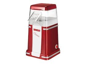 UNOLD 48525 - Pop corn maker - 900 W - metallic red/silver/white