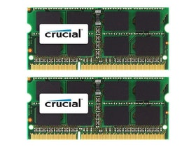 Crucial DDR3 8GB kit 1066MHz CL7 Ikke-ECC SO-DIMM 204-PIN
