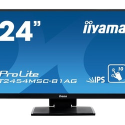 "iiyama ProLite T2454MSC-B1AG 23.8"" 1920 x 1080 VGA (HD-15) HDMI 60Hz"