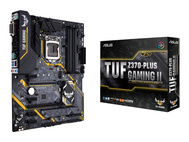 ASUS TUF Z370-PLUS GAMING II ATX LGA1151 Intel Z370