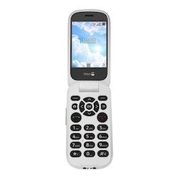"""Doro 7070 2.8"""" 4G Vit Svart"""
