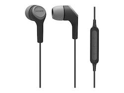 Koss BT115i - Hörlurar med mikrofon -  Bluetooth - trådlös - grå