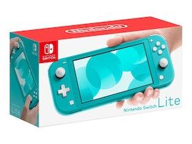 Nintendo Switch Lite, Nintendo Switch, Turkos, Analog / Digital, D-pad, Hem, Knappar, LCD