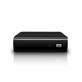 WD MyBook AV-TV Harddisk WDBGLG0020HBK 2TB USB 3.0
