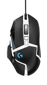Logitech G502 HERO SE - Gamingmus - Optic - 11 knappar - Svart