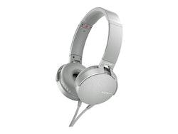Sony MDR XB550AP Kabling Vit