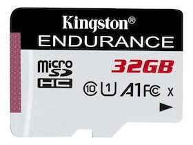 Kingston High Endurance microSDHC 32GB A1 / UHS-I U1 / Class10