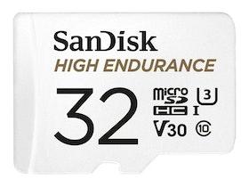 SanDisk High Endurance microSDHC 32GB Video Class V30 / UHS-I U3 / Class10