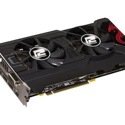 PowerColor Radeon RX 570 Red Dragon 8GB GDDR5 Grafikkort - DVI/HDMI/3x DisplayPort