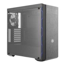 Cooler Master MasterBox MB600L - Med ODD-support - miditower - ATX - inget nätaggregat - svart