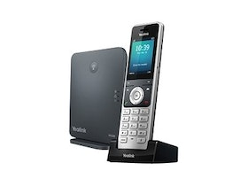 Yealink W60P - Cordless VoIP phone - IP-DECT\\GAP - SIP, SIP v2 - 8 lines