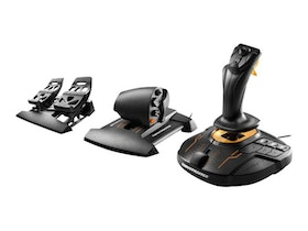 ThrustMaster T.16000M FCS Flight Pack Orange Svart