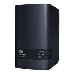 """WD My Cloud EX2 Ultra WDBVBZ0120JCH 3.5"""" 2Moduler 6TB"""