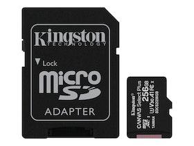 Kingston Canvas Select Plus microSDXC 256GB A1 / Video Class V30 / UHS Class 3 / Class10