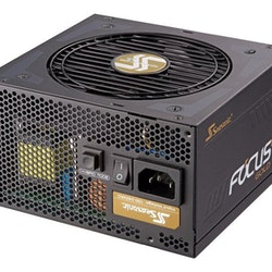 Seasonic FOCUS Plus 1000 Gold - Nätaggregat (intern) - ATX12V / EPS12V - 80 PLUS Gold - AC 100-240 V - 1000 Watt