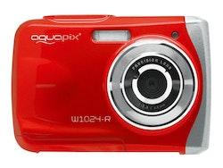 Easypix Aquapix W1024 Splash - Digitalkamera - röd