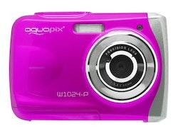 "Easypix W1024 ""Splash"" - Digitalkamera - kompakt - 10.0 MP / 16.0 MP - rosa"