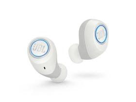 JBL Free - Riktiga trådlösa hörlurar med mikrofon - inuti örat - Bluetooth - vit