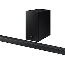 Samsung HW-R450 - Soundbar - 2.1-kanals - trådlös - Bluetooth - 200 Watt (Total) - kolsvart