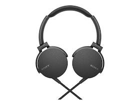 Sony MDR XB550AP Kabling Svart
