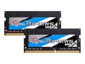 G.Skill Ripjaws DDR4 16GB kit 2666MHz CL19 Ikke-ECC SO-DIMM 260-PIN