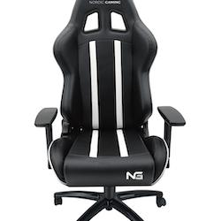 Nordic Gaming Carbon Gaming Chair, White