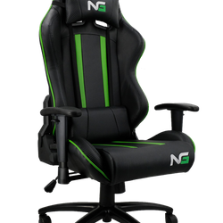 Nordic Gaming Carbon Gaming Chair, Green