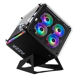Azza Cube 802, Kub, PC, SPCC, Svart