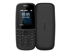 """Nokia 105 (2017) 1,8 """"4 MB Svart"""