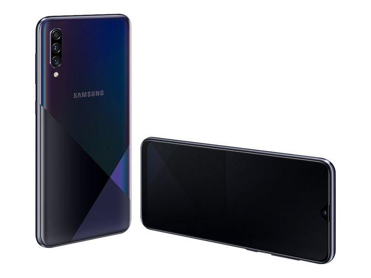 Samsung Galaxy A30s prism crush black