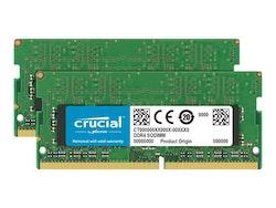Crucial DDR4 32GB kit 2666MHz CL19 Ikke-ECC SO-DIMM 260-PIN
