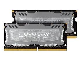 Ballistix DDR4 32GB kit 2666MHz CL16 Ikke-ECC SO-DIMM 260-PIN