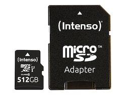 Intenso Premium microSDXC 512GB UHS Class 1 / Class10