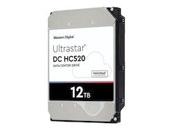 "WD Ultrastar DC HC520 Harddisk HUH721212ALE600 12TB 3.5"" SATA-600 7200rpm"