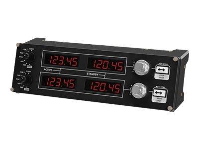 Logitech Flight Radio Panel Svart