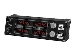Logitech Flight Radio Panel Svart